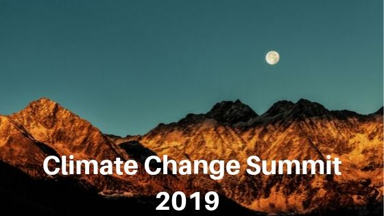 Climate Change Summit 2019