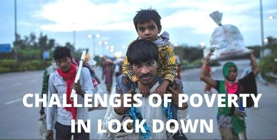 challenges of poverty in lockdown