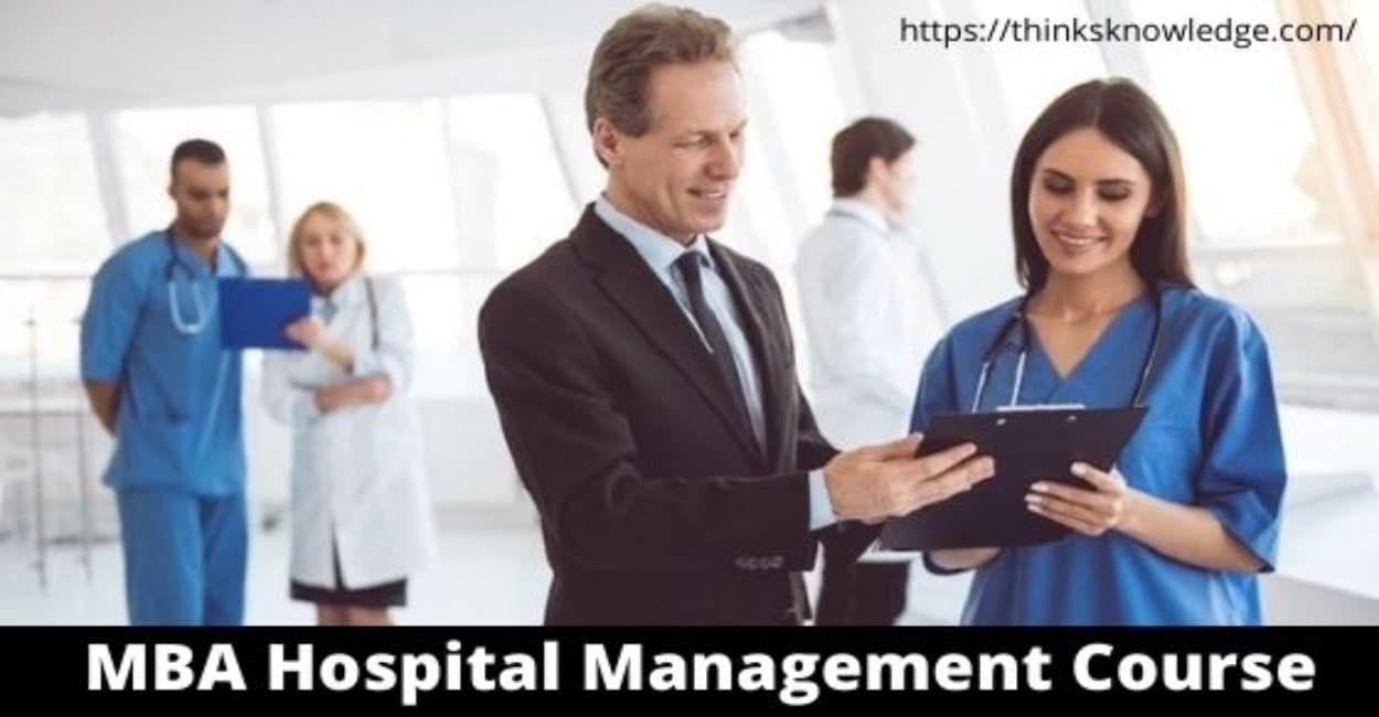 MBA in Hospital Management Course in India