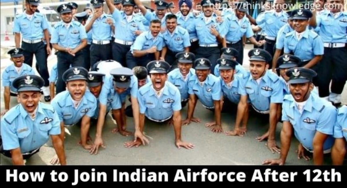 How to Join Indian Airforce After 12th