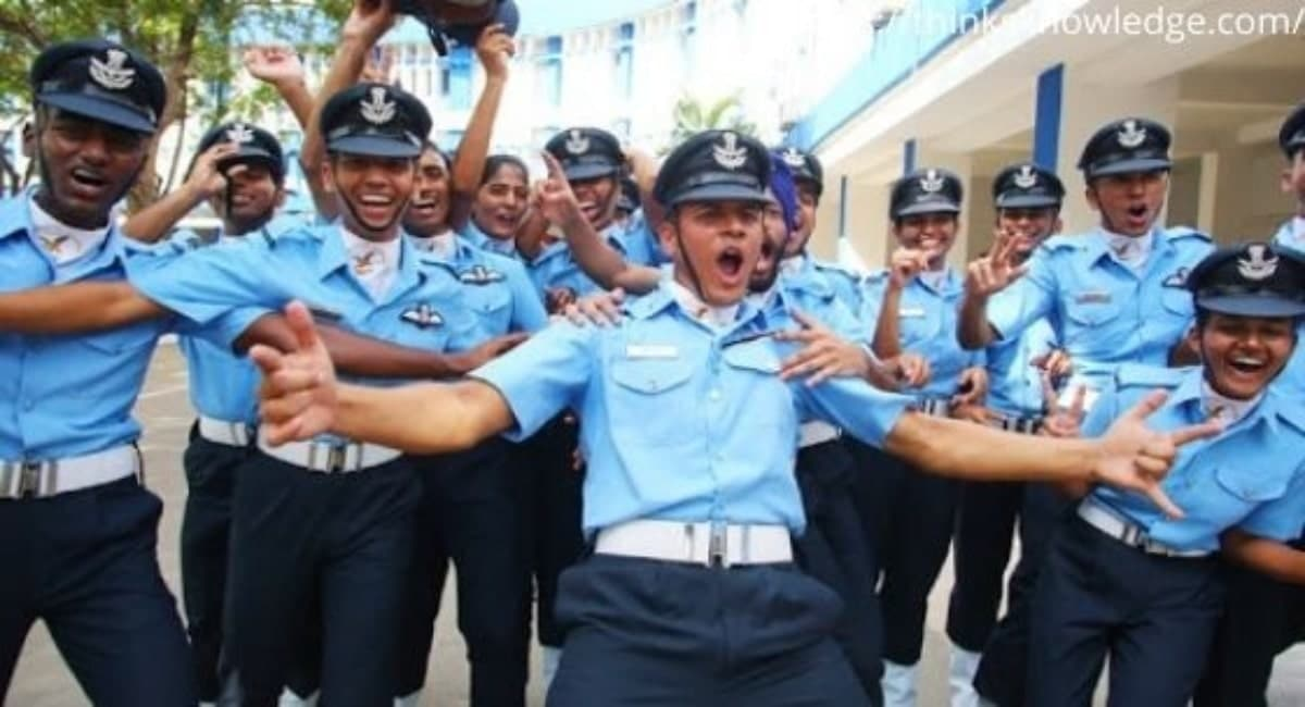 How to join indian airforce
