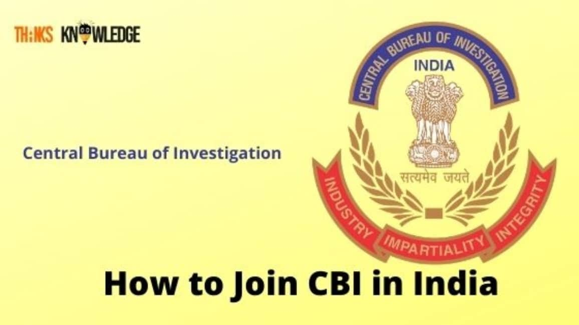 How to Join CBI