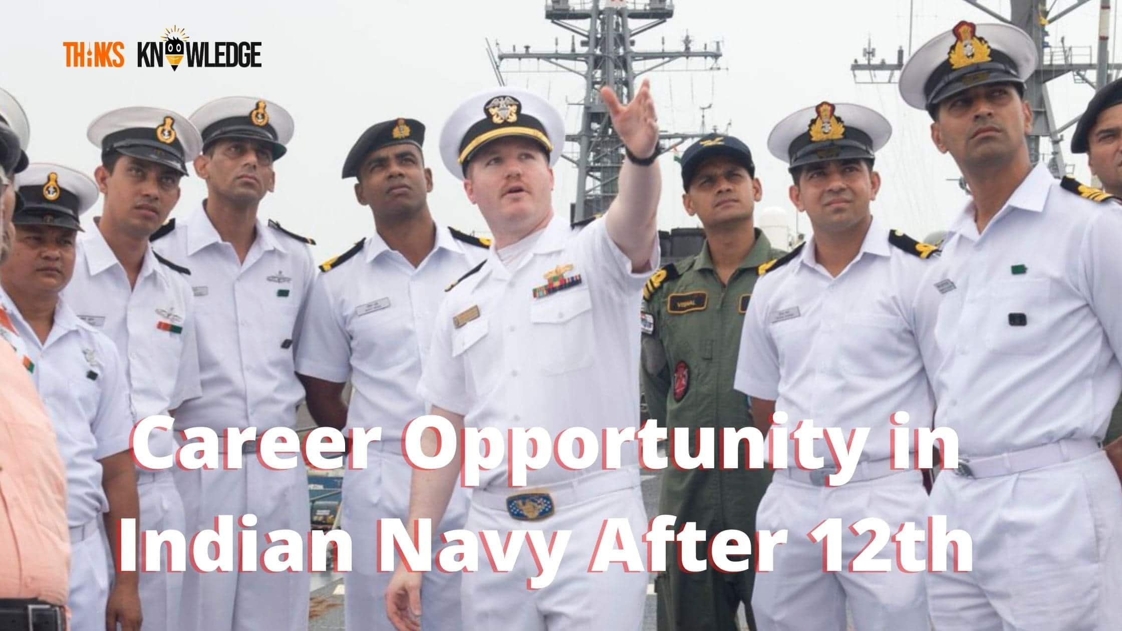 join Indian Navy After 12tth