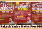 Rakesh yadav Maths Book