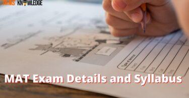 MAT Exam Details