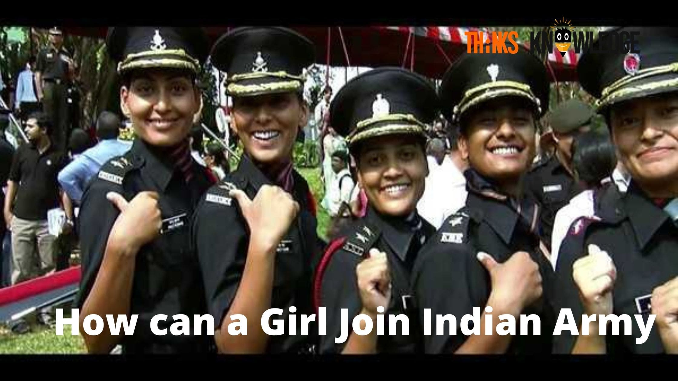 How can a Girl Join Indian Army
