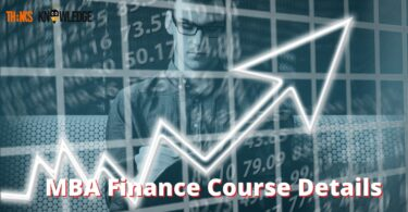 MBA Finance Course Details