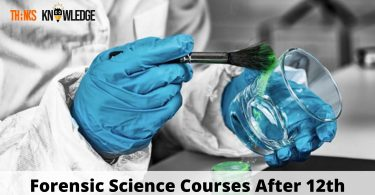 Forensic Science Courses After 12th