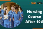 Nursing Course After 10th